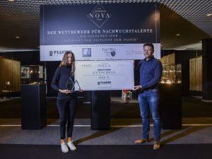 Zweitplatzierte der GOLDENEN NOVA 2020 erhält Förderung von Rudolf Flume Technik
